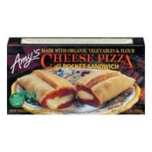 Cheese Pizza Pocket Sandwich by Amy's Kitchen, 4.5 oz (12)
