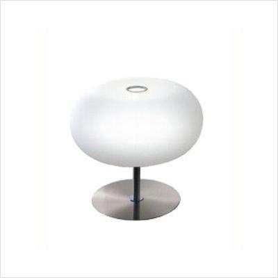 Zaneen Lighting D8-4007 Blow Table Lamp, Nickel