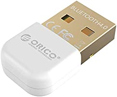 ORICO USB Bluetooth Adapter, Wireless Dongle for Windows XP/Vista / 7/8 / 10 [Ultra Mini and Low Energy, 3Mbps Data...