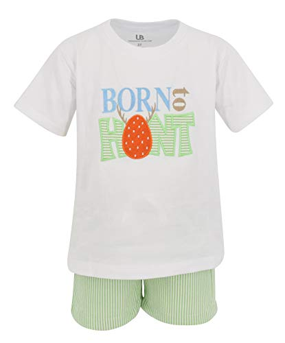 Unique Baby Boys Born to Hunt Easter Eggs Outfit (5, -