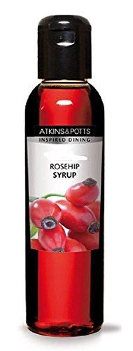 Atkins & Potts - Fragrant Rose Syrup - 200g