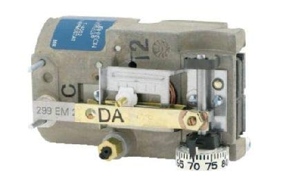 Johnson Controls T-4002-201 Single Temperature High Volume Output Thermostat, Direct Acting, Horizontal Mounting