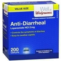 Walgreens Anti-Diarrheal, Caplets, 200 ea