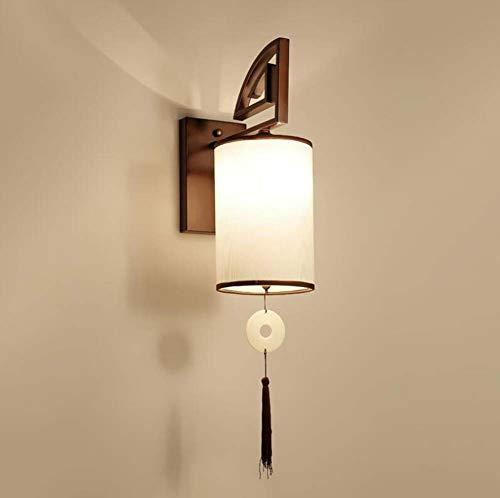 Bedside Wall Lamp Chinese Iron Bracket Lamp Tassel Pendant Deco Light Hotel Aisle Wall Lamp,A