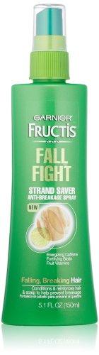 Garnier Fructis Fall Fight Strand Saver Anti-Breakage Spray Treatment for Falling Breaking Hair, 5.1 Fluid Ounce