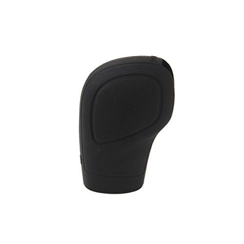Black Goliton Plush Auto Car Handbrake Cover Sleeve Gear Stick Shift Knob Cover Set