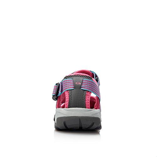 Clorts Femmes Randonnée En Plein Air Sport Athlétique Léger Sandale Amphibie Sd202 Rose