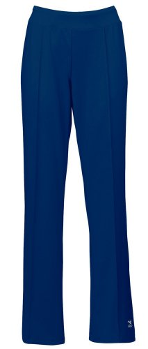 Mizuno Women's Nine Collection Regular Warm-Up Pants, Navy,