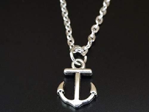 Anchor Necklace, Anchor Charm, Anchor Pendant, Anchor Jewelry, Anchor Gifts, Nautical Necklace, Nautical Charm, Nautical Pendant, Nautical Jewelry, Nautical Gifts, Sailor Necklace