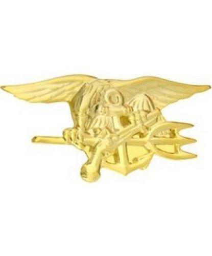 United States Navy Seals Trident Gold Lapel Mini Pin - Button Toys Mini