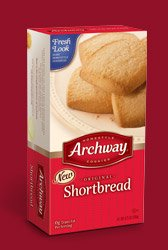 Archway Shortbread Cookies, 8.75-Oz Packages (Pack of 12) by Archway (Image #1)