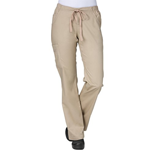 Maevn 9802 Straight Leg Cargo Pant Khaki XL Petite ()