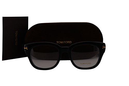 Tom Ford FT5473 Eyeglasses 49-20-140 Black w/Demo Clear Lens 001 TF5473 FT 5473 TF 5473