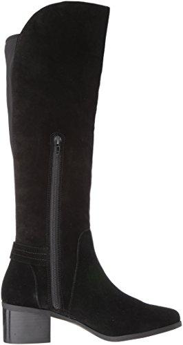Anne Klein Kvinna Jela Mocka Mode Boot Svart Mocka