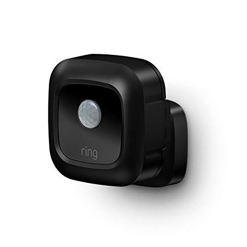 Ring Smart Lighting – Outdoor Motion-Sensor, Black (Ring Bridge required)