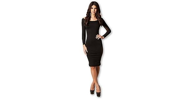Carolina Dress Vestidos Ropa De Moda Para Mujer De Fiesta y Noche Elegante Casuales (Large) at Amazon Womens Clothing store: