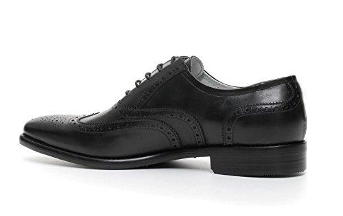 Nero Giardini , Herren Schnürhalbschuhe schwarz schwarz