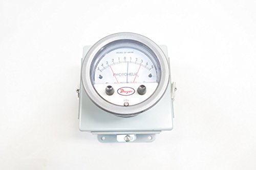 NEW DWYER A3310-WP PHOTOHELIC A3000 PRESSURE SWITCH/GAUGE 5-0-5IN-H2O D585688 by Dwyer (Image #9)
