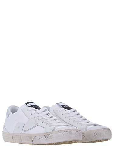2018 Más Reciente A La Venta Philippe Model Bercy Sneakers in Pelle Bianco Stile Urban-Chic Comprar Barato 2018 Buena Venta Nicekicks Precio Barato Las Fechas De Publicación Aclaramiento oI4U6