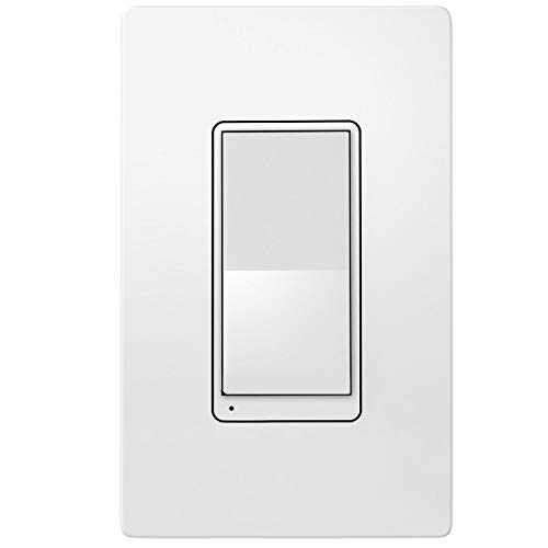 TOPGREENER Add Wi-Fi Dimmer (Cannot be Used as a standalone, Requires TGWF500D to Work), Auxiliary Switch, Control Lighting from Anywhere, in-Wall Installation, TGWF3K
