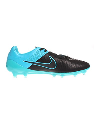 Tacchetti Da Calcio Nike Mens Magista Opus In Pelle Nero / Blu Turchese
