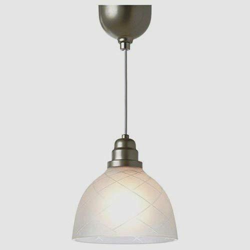 Amazon.com: IKEA söder Etched lámpara de colgante de vidrio ...