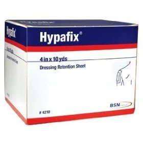 Hypafix Dressing Retention Tape - 4'' x 10 yards - - Case of 24
