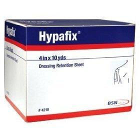 Hypafix Dressing Retention Tape - 4'' x 10 yards - - Case of 24