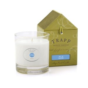 Trapp Signature Home Collection No  20 Water Poured Scented Candle  7 Ounce