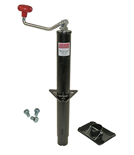 RAM A-Frame Trailer Jack with Foot and Mounting Hardware