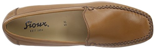 Marrón Sioux Campina Mujer Cuoio Mocasines Marrón qrpw6Inr