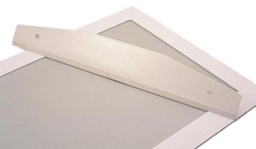 Plastic Spatula Bourgeat (Matfer Bourgeat 421716 Ruler, White)