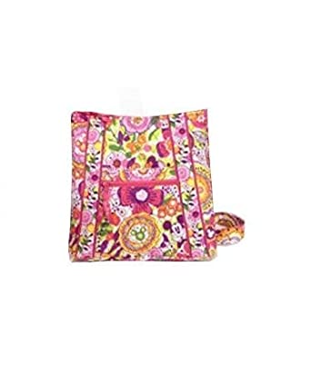 dee5e3e492 Image Unavailable. Image not available for. Color  NWT Disney Vera Bradley  BOUNCING BOUQUET Large Hipster w Minnie Mickey ...