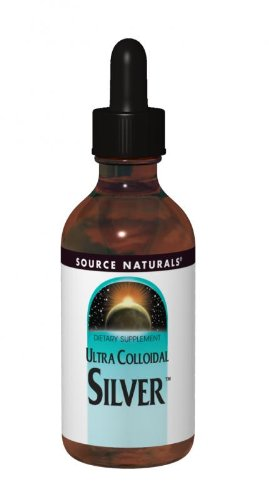 Source Naturals Ultra Colloidal Silver Liquid, 10 ppm, 4 Ounce