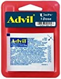 Advil Tablets 6PK (2 Caplets per Pouch) Perfect for Travel and On-The-Go! Headaches, Toothaches, Backaches, Menstrual Cramps, Common Cold, Muscle Aches, Arthritis, Also a Temporary Fever Reducer