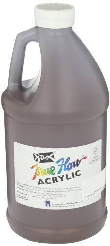 Sax True Flow Heavy Body Acrylic Paint, 1/2 Gallon, Burnt Umber