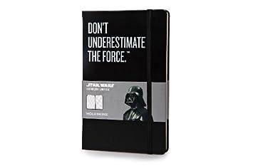 Libreta Moleskine Con Motivo Star Wars Vader (Color Negro ...