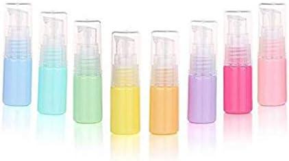 dfa941b65c37 6PCS 10ml Macaron Color Lotion Bottle Empty Portable Refillable ...