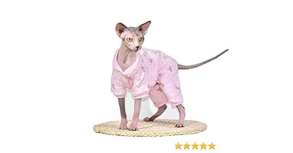 Amazon com : Khemn Designer Cat Warm Clothes Cat Sweater