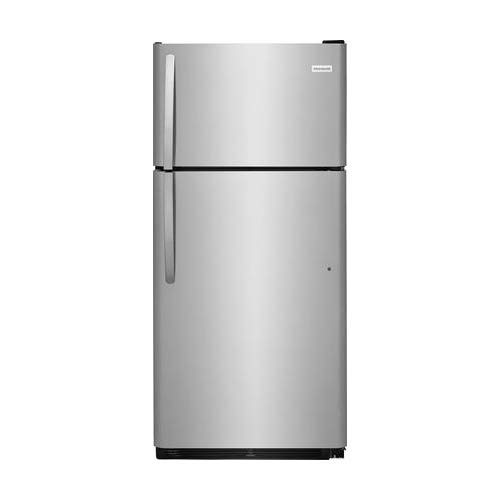 Frigidaire FFHI1832TS 30 Inch Freestanding Top Freezer Refrigerator with 18 cu. ft. Total Capacity, in Stainless Steel - Freestanding Top Freezer Freezer