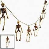 Dangling Skeleton Garland - Halloween Decoration