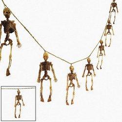 (Dangling Skeleton Garland - Halloween Decoration)