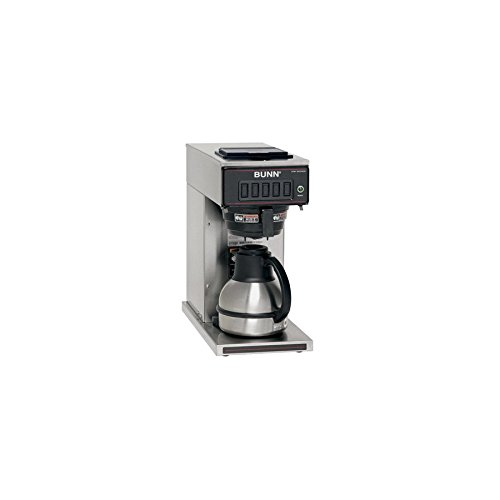 BUNNa Stainless Steel 12-Cup Programmable Coffee Maker - BUNN Model - 23001.0040 - Set of 2 Gift ...