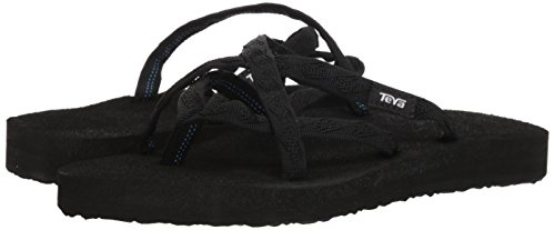 96f75841d Teva Women s Olowahu Flip-Flop - 9 B(M) US - Mix Black on - Import It ...