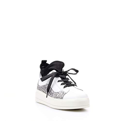 Pelle Inverno Jo Liu Bianco Sneaker Alta Autunno 6OUnpqB