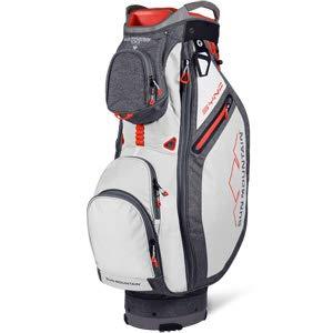Sun Mountain 2019 Sync Cart Bag Charcoal/White - Mountain Putter Golf Bag