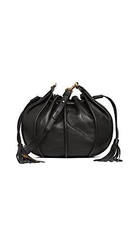 Mackage Women's Kase Medium Bucket Pouchette, Black, One Size (Black Pouchette)