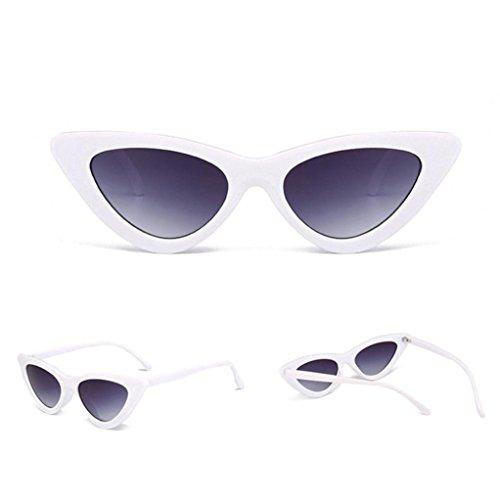 Petites Lunettes De Soleil En Yeux De Chat Pointues,OverDose Femme Intégré UV Mode Sunglasses G