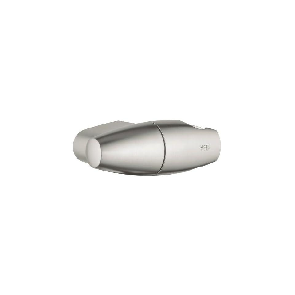 Grohe 28 401 EN0 Adjustable Wall Mount Hand Shower Holder, Infinity Brushed Nickel