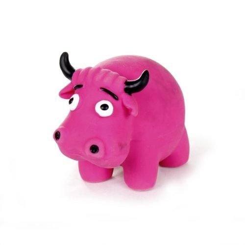 Krislin Latex Mini Ball Cow, My Pet Supplies